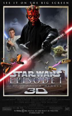 Звездные войны. Эпизод I: Скрытая угроза 3D