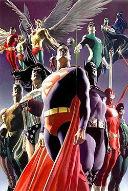 Лига Справедливости как ответ Мстителям