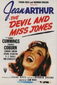 Смотреть Дьявол и мисс Джонс онлайн на Кинопод бесплатно