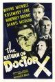 Смотреть фильм Возвращение доктора X онлайн на Кинопод бесплатно