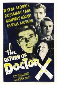 Смотреть Возвращение доктора X онлайн на Кинопод бесплатно