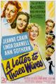 Смотреть фильм Письмо трем женам онлайн на Кинопод бесплатно