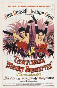 Смотреть Джентльмены женятся на брюнетках онлайн на Кинопод бесплатно