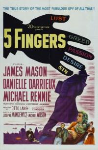 Смотреть Пять пальцев онлайн на Кинопод бесплатно