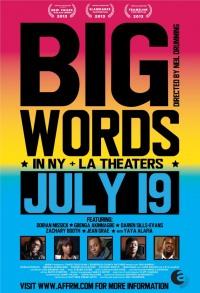 Смотреть Громкие слова онлайн на Кинопод бесплатно